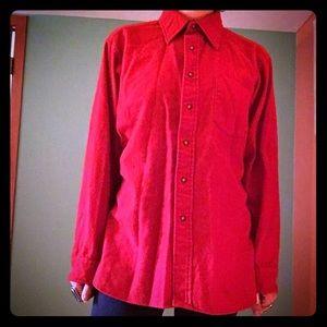 vintage red pendleton